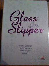 Korean DVD TV Series Glass Slippers  English Subtitles 21 hours of video