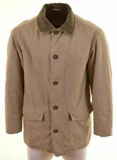 MARLBORO CLASSICS Mens Harrington Jacket Size 38 Medium Beige Cotton  F215