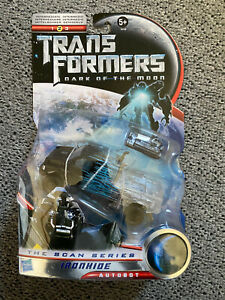 Hasbro Transformers Dark of the Moon DOTM Scan Series Deluxe IRONHIDE Rare MISB