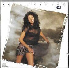 June Pointer - Self Titled 1989 Cd Album - Rare Columbia Ck-44315 Usa