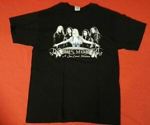IN THIS MOMENT A Star-Crossed Wasteland Shirt Größe L - NEU