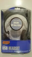 CUFFIE LOGITECH USB PLAYSTATION 2 SOCOM US NAVY SEALS OFFICIAL HEADSET PS2