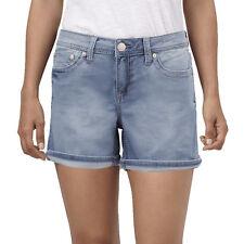Womens Seven 7 Powell Blue Denim Shorts Size 14