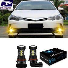 Golden Yellow Led Fog Light Bulb Lamp 9006 For Toyota Tundra Corolla 4runner
