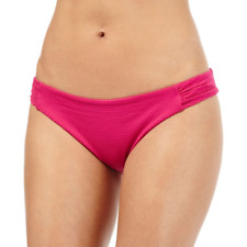 Butterfly Matthew Williamson Pink Textured Bikini Bottoms Size UK 10 DH180 GG 15