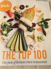 The Top 100 British Restaurants The Dish Sunday Times 56 Pages Of Food