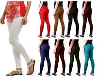 Ladies Full Ankle Length Cotton Legging Women Stretchy Skinny Fit Fancy Trouser