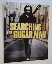 Sixto Rodriguez Signed Autographed 11x14 Photo SEARCHING FOR SUGARMAN COA VD