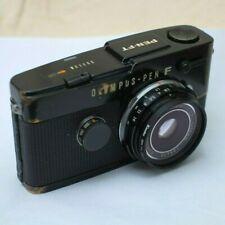 Olympus RARE 38mm 2.8 pancake E.Zuiko Lens W/ PEN FT SLR Film Camera body 35mm