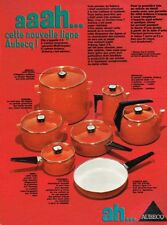 A- Publicité Advertising 1969 Les Casseroles faitout Aubecq