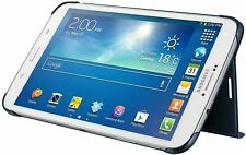 "Genuine Samsung Abatible Estuche Galaxy TAB 3 8.0 Original Tablet Funda Libro 8"" Azul"