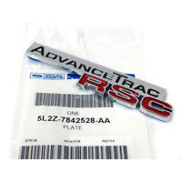 "OEM NEW Rear Lift Gate Trunk Emblem ""AdvanceTrac RSC"" Chrome Red 5L2Z-7842528-AA"