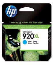 HP 920XL  Blau/Cyan Original Druckerpatrone Datum September 2015 OVP&NEU