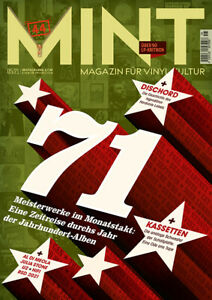 MINT – Magazin für Vinylkultur Ausgabe 44 Mai 2021 / 1971 - eine Zeitreise