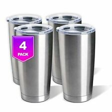 Stainless Steel Tumblers Bulk 20oz Double Wall Vacuum Insulated by Pixiss |.