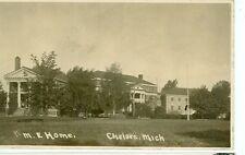 CHELSEA,MICHIGAN-M.E. HOME-PRE1920-AZO-RPPC-(RP#1-1800)