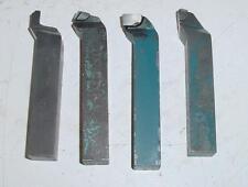 Lot de 4 barreaux de tournage à aléser acier carbure carrés 20 x 20 mm