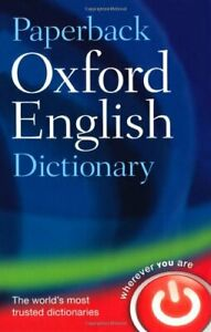 Paperback Oxford English Dictionary by Oxford Dictionaries Paperback Book The