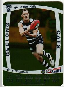 2011 TEAMCOACH Gold JAMES KELLY #20 💥⭐GOLD CARD⭐💥