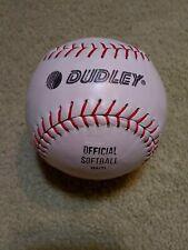 Vintage Dudley Softball Sb-12L Rf Cork-Center New Old Stock