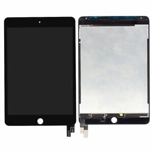 LCD Display Touch Screen+Sleep Wake Sensor Flex For iPad Mini 4 A1538 1550 Black