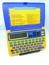 Oregon Scientific DB-139 Calculator Personal Information Organizer Scheduler