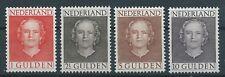 1949TG Nederland Koningin Juliana 534-537 postfris mooi zegels.