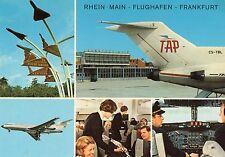 Alte Postkarte - Flughafen Frankfurt Rhein-Main Hessen AK Ansichtskarte Sammlung