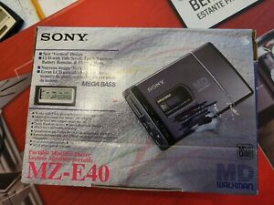 Sony MZ-E40 MiniDisc MD Player NEW in Box