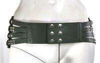 Cintura Donna SILVIAN HEACH Cinturone E042 Verde Muschio Misure M L