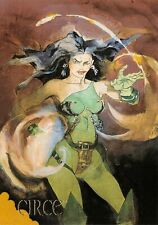 CIRCE / DC Comics Villains The Dark Judgment BASE Trading Card #68