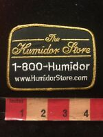 Cigar Box THE HUMIDOR STORE Advertising Patch 84X5