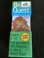Brain Quest, Ages 5-6, Kindergarten, New Unopened