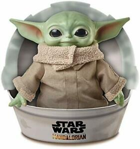 Mattel Star Wars The Child Plush Toy 11-Inch Small Yoda-Like Soft Figure from...