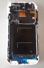 DISPLAY LCD +TOUCH SCREEN + FRAME per SAMSUNG GALAXY S4 i9505 i9508 BIANCO