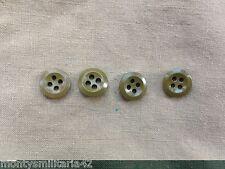 Original WW2 British Army Collarless/Jungle Green/Khaki Drill Shirt Buttons
