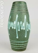 Vintage 1960-'70s SCHEURICH KERAMIK Vase 242-22 West German Pottery Fat Lava Era