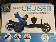 Cardiff Skate Co Cruise Blue Black Adult/Child/Kids Boy Girl Unisex Small