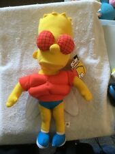 Bart Simpson Treehouse Of Horrors THE FLY 18 Inch Plush Doll 2006 NANCO