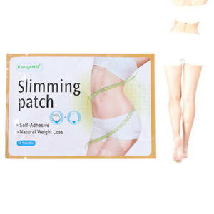 10Pcs Slim Patch Weight Loss Burn Fat Diet  Adhesive Body Slimming Pad