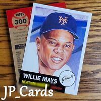 2020 Topps Living Set - #300 Willie Mays - New York Giants - All-time Great HOF!