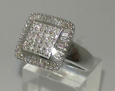 Excellent Cut Round White Gold SI1 Fine Diamond Rings