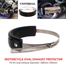 1PCS Motorcycle Exhaust Protector Can Cover Round 100mm-140mm Fit For YAMAHA FJR