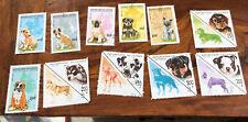 Guinea Postage Stamps Dog Theme