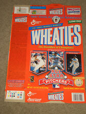 Vintage Collectible Wheaties Cereal Box - All Star Pitchers - Nomo,Maddux,Cone
