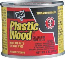 NEW DAP 21408 4 OZ CAN GOLDEN OAK PLASTIC WOOD FILLER PUTTY 6384341