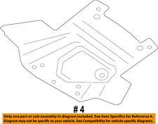 Dodge CHRYSLER OEM 15-18 Charger Splash Shields-Splash Shield 68214815AA