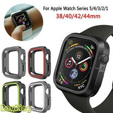 38-44mm TPU Silicone Bumper Watch Case Cover Protector For Apple iWatch1/2/3/4/5