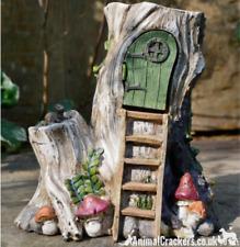 Ladder Fairy House opening door garden ornament decoration Pixie lover gift
