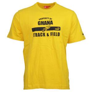 Puma Ghana T-Shirt Homme Jaune Football 803562 01 Gr. XL